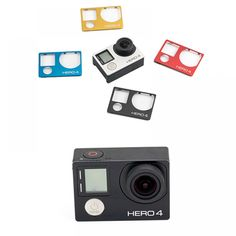 Aluminum Faceplate For Hero 4  Price: $ 39.22 & FREE Shipping #fisheye #techie Gopro Accessories, Gopro Hero, Mp3 Player, Free Shipping, Phone, Tripod, Bluetooth, Blue Tooth, Telephone