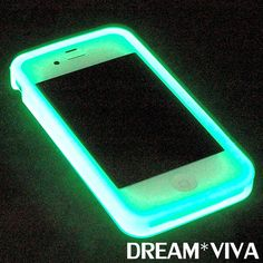 New Purple Luminous Glow In The Dark Soft Gel Case For Iphone4 4G 4s Party Club ($6.99) - Svpply ~ bet this would look crazy in a club...lol.