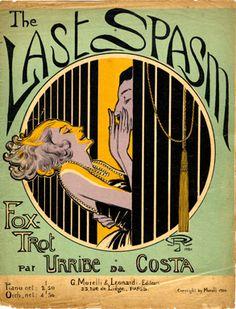 The Last Spasm, 1920 (ill.: G. R. (monogram)); ref. 1685