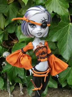Monster High Custom Clothing OOAK Outfit No Exit  by PitstopPippa, £52.00