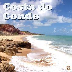 Marque nos comentários qual #amigo você mandaria para esse paraíso lá no #litoral do #conde. Paraiba, Beach, Water, Outdoor, Smartphone, Littoral Zone, Tips, Count, Lets Go