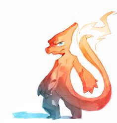 pokemon em aquarela de Nicholas Kole