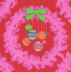 Vintage Christmas gift wrap!!! Bebe'!!! Lovely gift wrapped presents!!!