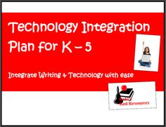 Technology integration - use these projects to integrate technology skills into your writing lessons. Free downloads!
