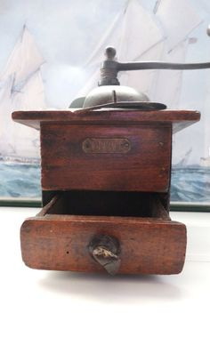 rustic coffee grinder by japy freres and co by arseizhavel on Etsy, €59.00