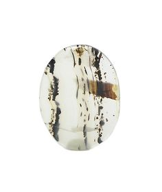 Montana Golden Black Plume Agate Semi Precious by FenderMinerals
