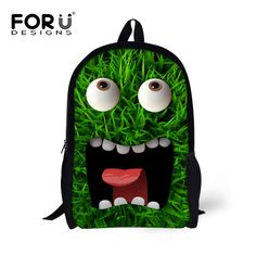 Primary Backpack Funny Emoji Face 3d Printing Backpacks for teenage Girls Boys Children School Bags Five Nights Bagpack Mochila