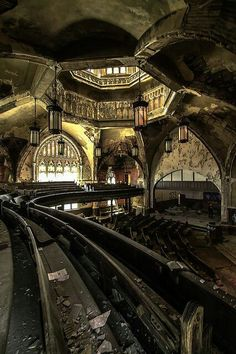 17 Abandoned Places That Will Give You Chills I love abandoned places. Does anybody else find these beautiful? Related posts:Great Buffalo Trading PostOld and new abandoned buildings — Powerpix productionsle château de madame Abandoned Buildings, Abandoned Detroit, Abandoned Mansions, Old Buildings, Abandoned Places, Abandoned Library, Abandoned Cars, Abandoned Warehouse, Abandoned Prisons