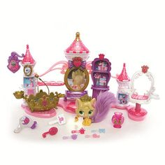 """She has a few of these animals and loves them Disney Princess Palace Pets Spa Playset - Blip Toys - Toys """"R"""" Us"""