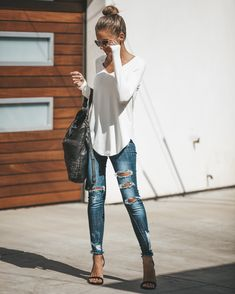 50 awesome summer outfits you should already own 40 ~ Litledress - Women Outfits Mode Outfits, Casual Outfits, Fashion Outfits, Fashion Trends, Hijab Fashion, Fashion Styles, Fashion Ideas, Fashion Tips, Cute Fashion