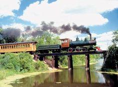 Crossroads Village and Huckleberry Railroad, Flint, East Central Michigan