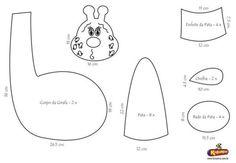 Blog de monicascarpat :Atelier Monica Scarpat, girafa molde