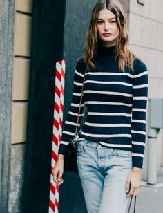 Wanted : a polo-neck sweater #style #fashion #inspiration #FranckProvost #paris #parisienne # #glamour #chic #provost Inspiration Franck Provost