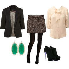 A fashion look from November 2011 featuring Sticky Fingers blouses, Anna Sui tights and Kendra Scott earrings. Browse and shop related looks.