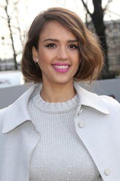 Jessica Alba - Stars Spotted During Paris Fashion Week