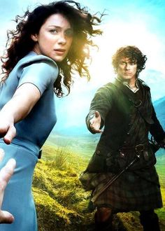 Outlander Starz I'm a little bit excited!  I'm enjoying this way more than I thought I would,  not a wee bit but way more!
