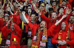 إستعدادت بروكسل لمباراة بلجيكا الاولى بالمونديال