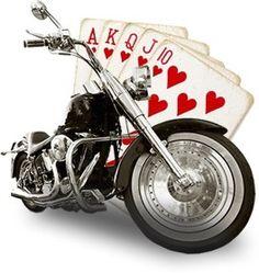 Illinois imposes fees on motorcycle poker runs!