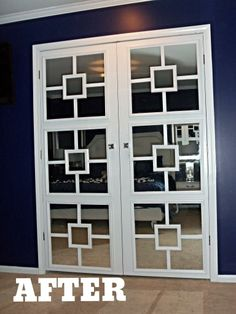 The Schorr Thing: DIY Closet Door Makeover