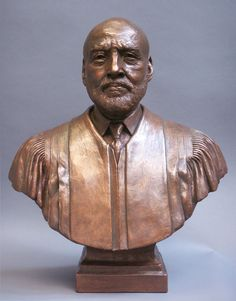 Adolpho A. Birch, Jr., Former Chief Justice of the Supreme Court of Tennessee, from October 1994 to August 2001, portrait sculpture by artist Zenos Frudakis. American lawyer and judge, A. A. Birch, Jr. was the first African American to serve as Chief Justice of the Tennessee Supreme Court. #ChiefJusticeBirch #Justice #JusticeBirch #sculpture #ChiefJusticeBirchsculpture #statue #ZenosFrudakis #Zenos Freedom Sculpture, Chief Justice, Birch, Supreme Court, Carving, African, Portrait, October, Artist