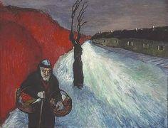Marianne von Werefkin, The Lonely Path, c. 1910