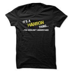 [New tshirt name ideas] Its a HANSON thing