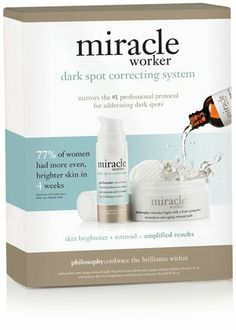 Philosophy Miracle Worker Dark Spot Correcting System