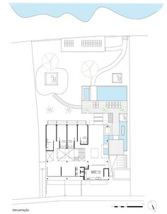 Image 13 of 13 from gallery of Hotel Spa NauRoyal / GCP Arquitetos. Site Plan