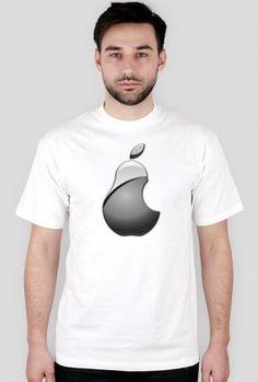 Każdy haker posiada gadżety. Na stronie koszulki-informatyczne.ovh możesz znaleźć zabawną koszulke Apple. Jej ironiczny wzór z gruszką pozwoli Ci wyróżnić się wśród tłumu. Nie ważne czy jesteś fanem takich produktów jak iPad, IPhone, iPod czy wręcz antyfanem... #tshirt #apple