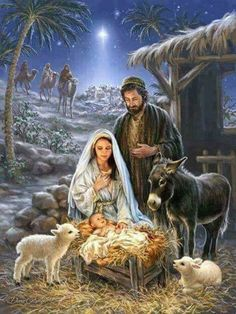 Remember the true meaning of Christmas with this beautiful puzzle. This gorgeous piece of artwork depicting the birth of Jesus and the coming of the 3 wise men is a truly awe-inspiring puzzle. Springbok Savior is Born Jigsaw Puzzle