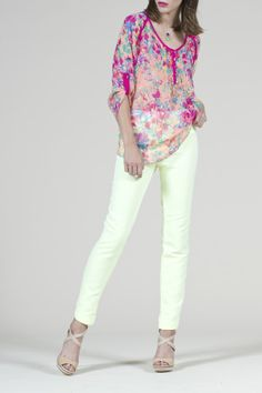 Michelle Blouse in Tropical Floral, perfect for your Easter weekend!
