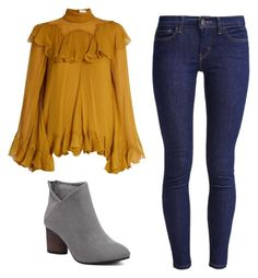 """""""Fall ootd"""" by danielle09-1 on Polyvore featuring Chloé and Levi's"""