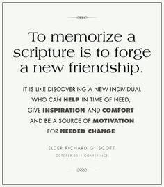 Scripture . . . A New Friendship