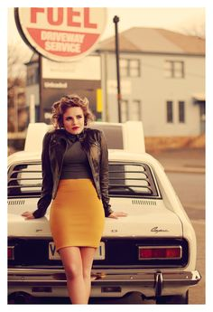 Image result for hot summer model photoshoot day old car