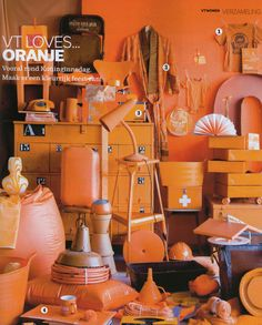 Orange Collage by vt wonen