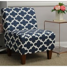 Shop a great selection of Mainstays Amanda Armless Accent Chair (Navy Blue White). Find new offer and Similar products for Mainstays Amanda Armless Accent Chair (Navy Blue White). Boho Living Room, Small Living Rooms, Living Room Sets, Living Room Chairs, Living Room Furniture, White Furniture, Garden Furniture, Modern Furniture, Armless Accent Chair