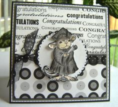 Cards by America: Showing off My House Mouse Greeting Card designs