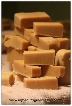 #DIY modern homesteader soap with goat milk and tallow