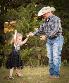 Daddy Daughter Portraits