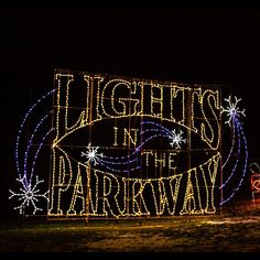 Lights in the Parkway in Allentown, PA #allentown #pennsylvania #lights #holiday #festive #bennettinfiniti