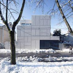 Villa Criss-Cross Envelope,  Ljubljana, Slovenia / OFIS Architects © Tomaz Gregoric