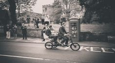 Vintage a Rickshaw hire in West Midlands #weddings #cycling