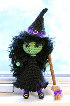 Zora The Witch Amigurumi Pattern - http://pinterest.com/Amigurumipins