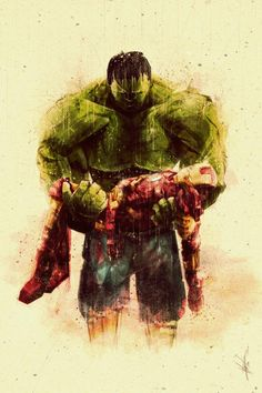 Brothers In Arms: Hulk and Iron Man