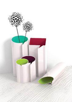 """""""Speech vase"""" design by Zuzana Marhefková"""