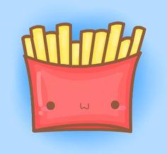 French Fries by cuddledcrayons.deviantart.com on @deviantART