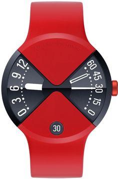 Art Lebedev's Super-Sleek Watch Design Redefines The Face