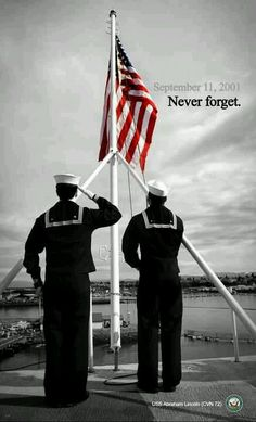 9/11/01 Some have forgotten as as history teaches us..if you forget it can happen again!
