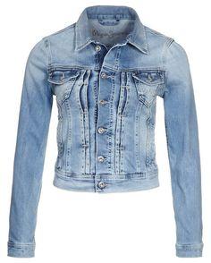 Veste jean femme moins cher