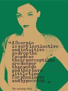 Scorpio instinctive